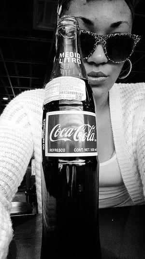 Blackandwhite Coca-Cola ❤