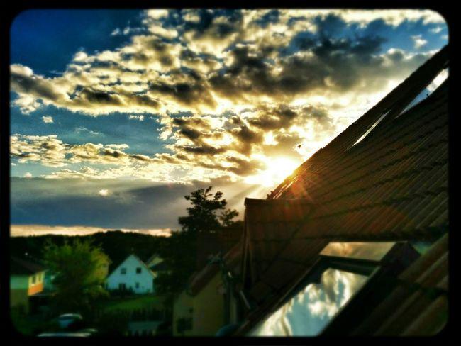 Gestern ging die Welt unter ... oder doch nicht .. ;) Sunset Cloud And Sky
