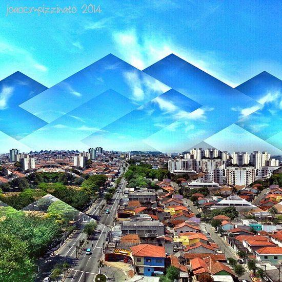 Fragmentapp Neighborhood Horizon Panoramic urban colors city zonasul saopaulo brasil photography