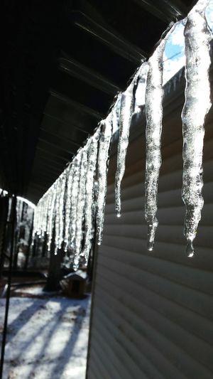 Glitch Icicles IciclesOfDeath Winter Sun Through Ice