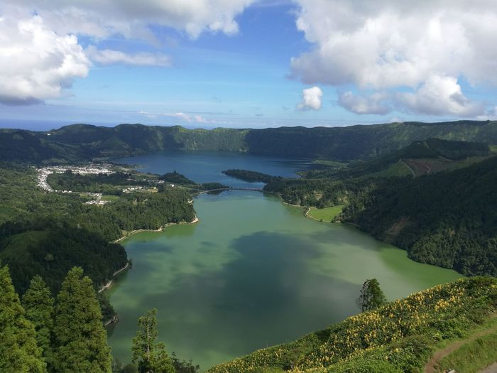 Azores, S. Miguel Azores Islands Azores Beauty Sete Cidades Lake View Lakeshore Portugal Is Beautiful Portugal Exotic An Eye For Travel