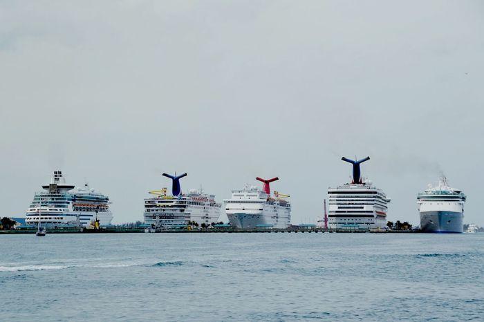 Carnival cruise ships at Nassau, Bahamas port Carnival Cruise Cruise Ship Cruise Nassau, Bahamas Bahamas Water Traveling Holiday Travel