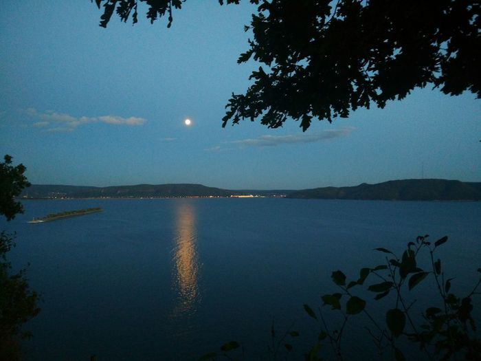 Луна над рекой Волга в городе Тольятти, Самарская область Moon over the Volga river in the city of Togliatti, Samara region Beauty In Nature Cloud - Sky Growth Lake Moon Moonlight Nature Night No People Plant Scenics - Nature Sky Tranquil Scene Tree Water Ночь Река Волга луна небо ночное небо река HUAWEI Photo Award: After Dark EyeEmNewHere