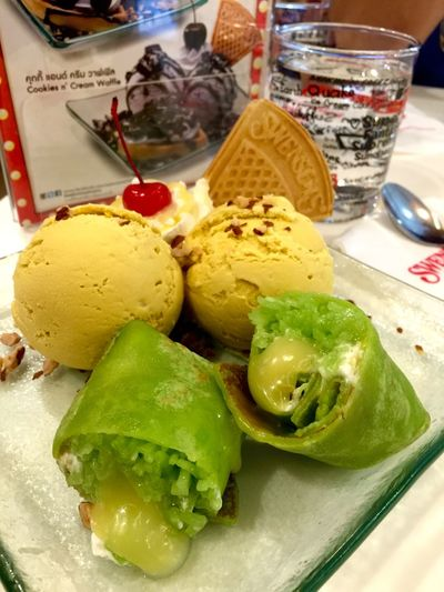 Durian ice cream Ice Cream Time For Dessert! Cherry On Top The Photojournalist - 2015 EyeEm Awards The Foodie - 2015 EyeEm Awards EEA3 Check This Out The Moment - 2015 EyeEm Awards EyeEm 2015 Open Edit