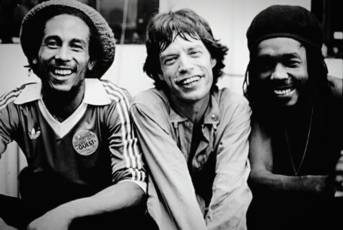 Enjoying Life Relaxing Music Mickjagger Bob Marley Rollingstones Vintage Old Moments Legends