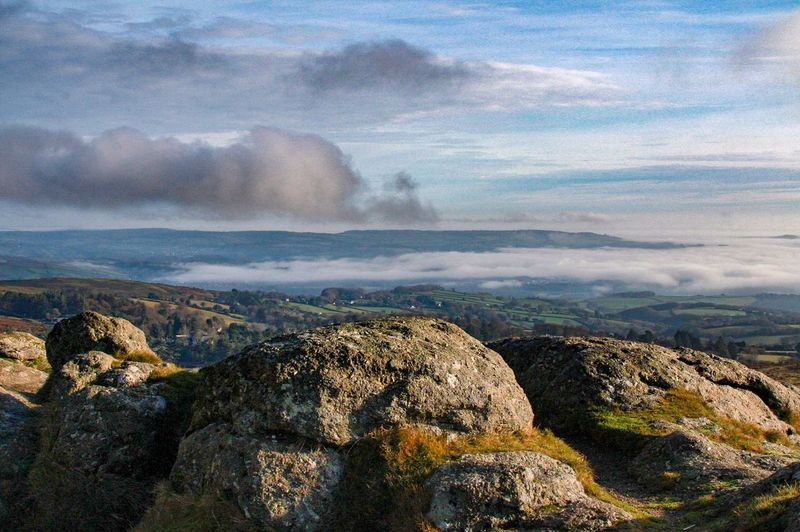 Beauty In Nature Cloud - Sky Cloud And Sky Dartmoor Day Geology Granite Landscape Mountain National Park Nature Outdoors Physical Geography Rock - Object Scenics Sky Stone Tranquility Travel Destinations