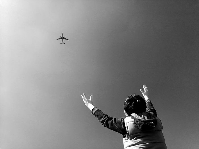 Plane Airways Fly Dream First Eyeem Photo