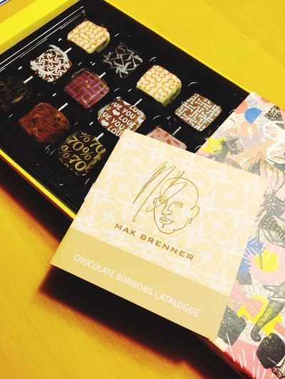 Maxbrenner Present Sweets Chocolate♡
