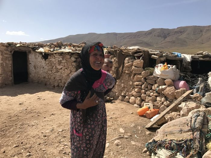 Nomadic woman