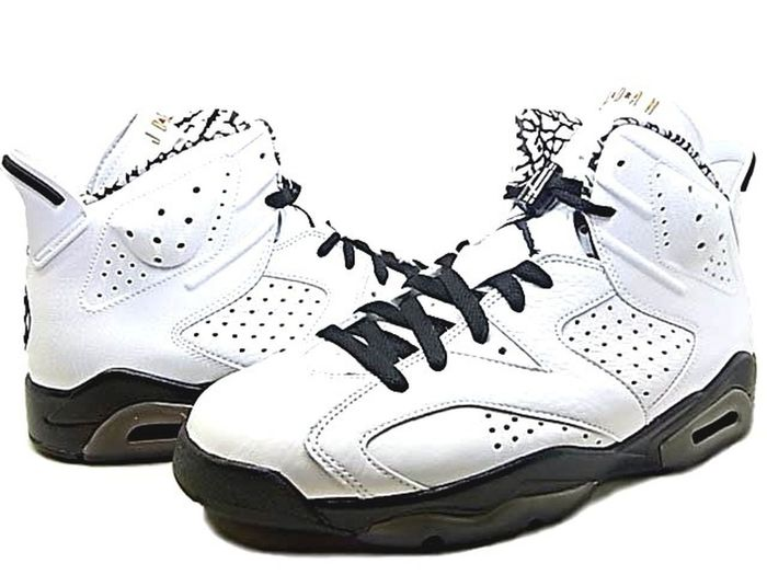 Air Jordan 6 (VI) Retro Premium – Motorsports 2009 – White / Black