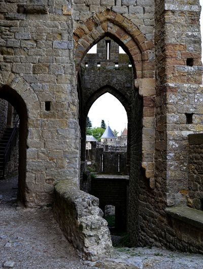 Arch Architecture Brick Wall Built Structure Castle Castle Wall History Old Ruin Stone Wall Through The Doorway Travel Destinations