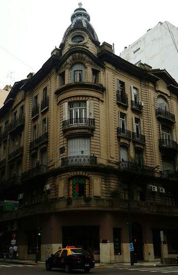 Buenosaires Caba Dianublado Libertad Santafe Esquina Ventana Window Building Old Downtown Beautiful