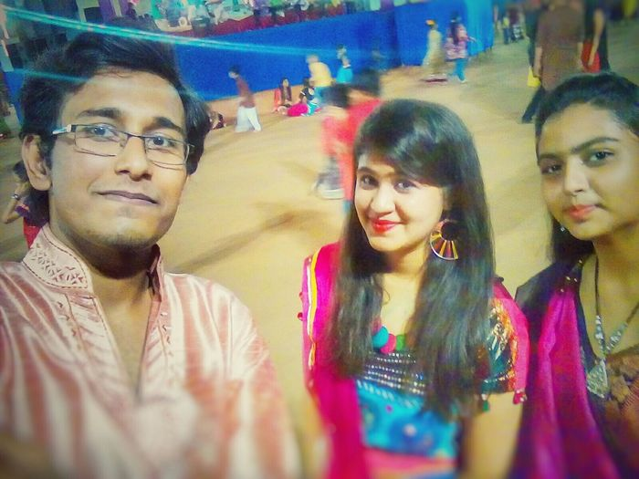 Capture The Moment Navratri2k15 Taking Photos Selfietime✌️😄😂👌 Sweethearts😘💝💖 Hanging Out Enjoying Life Feeling Happy Fun With Beauties Fun With Snapseed