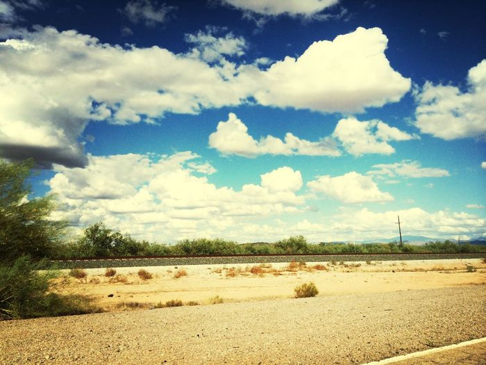 Another beautiful day in AZ! Cloudy Skies