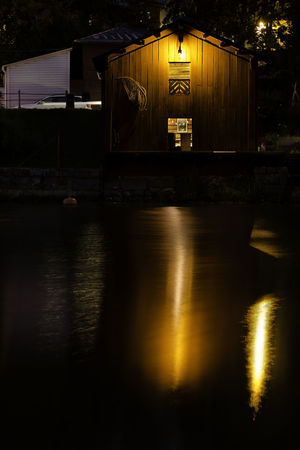 Old town of Porvoo, Finland Church EyeEmNewHere Finland Old Town Touristic Travel Architecture Building Building Exterior Built Structure Cabin Cozy Historic Illuminated Landmark Night No People Old Outdoors Porvoo Reflection River Tourism Viewpoint Visitfinland