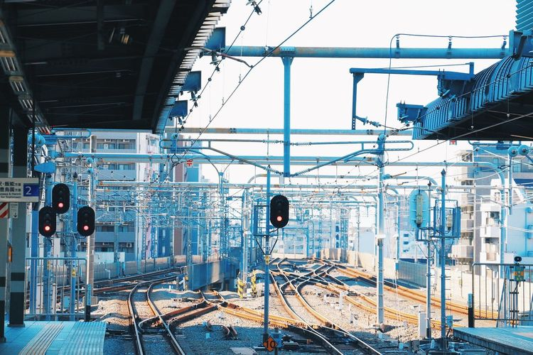 線路 Taking Photos Train Station Railway VSCO Vscocam