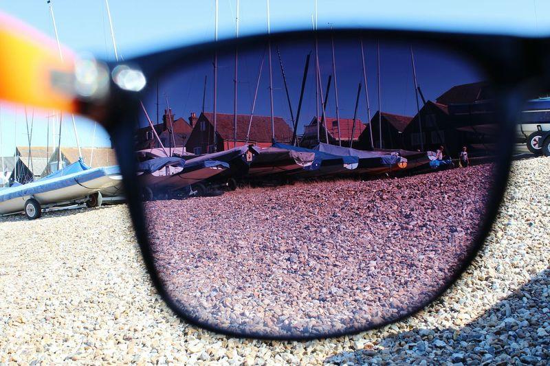 Shore Beach Whitstable Harbor Whitstable Sunglasses Sailboat EyeEmNewHere