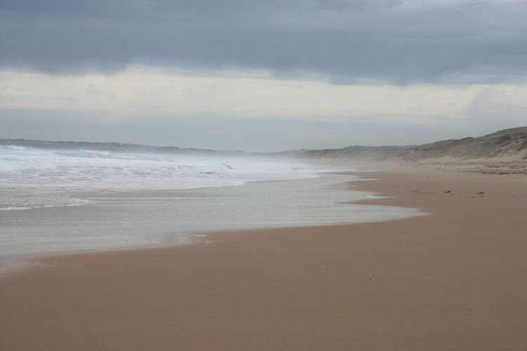 Cape Woolamai Beach Beach Beauty In Nature Day Horizon Over Water Nature No People Outdoors Sand Scenics Sea Sky Tranquil Scene Tranquility Water Wave