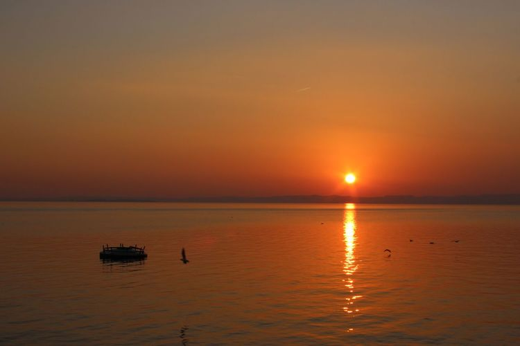 Sunset on Garda