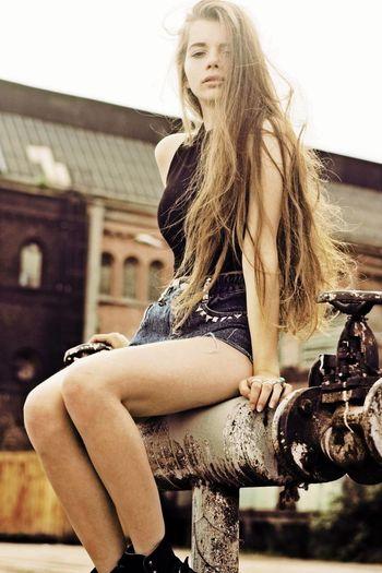 Blonde Fashion Gdansk Girl Grunge Hair Joanna Kuchta Longhair Model