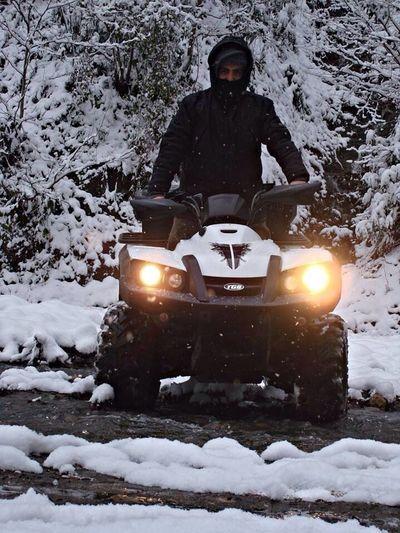 Trabzon Kış Safarisi Akçaabat Highlands Winter Freedom Enduroforlife Tgbblade ATV Ride