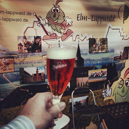 Ersma ein #Duckstein... #prost | #CMT14 ELM Cmt14 Beer Lappwald Elmlappwald Cheers Fair Stuttgart Bier Messe Booth Prost Duckstein Cmt Tradeshow