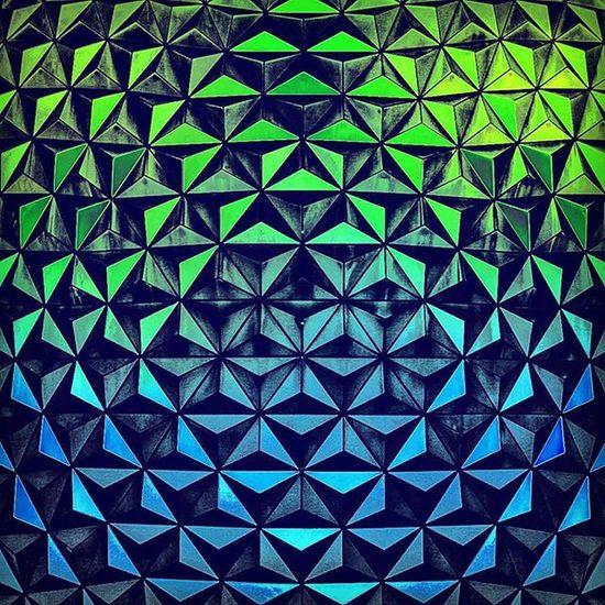Triangle Ocean - photo by ArtificialArtist Spaceshipearth Epcot WDW WaltDisneyworld Art Artificialartist Artist Photoshop Illustration Architectureart Digitalart  Architecture Picoftheday Themepark Photograpy 3Dart 3Dartist Disney Artphotography