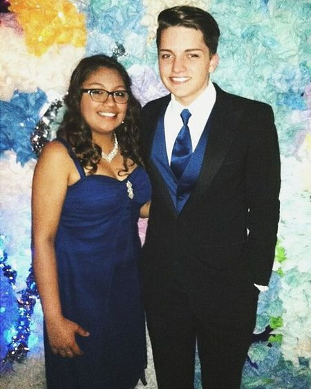 My WCW is Dezi, of course. I miss her so much and I hope I'll get to visit her in Texas this summer! 😊 Looking forward to going on crazy adventures together. 😂 WaybackWednesday Prom Smile Happy Suit Blue Seniors