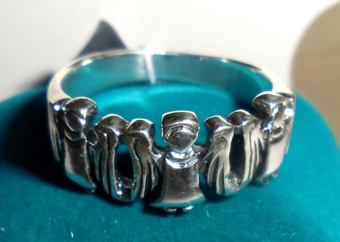 Angel Blye Finger Ring Gift Jewelry Luxury Metal No People Selective Focus Shiny Silver Colored Still Life Wealth