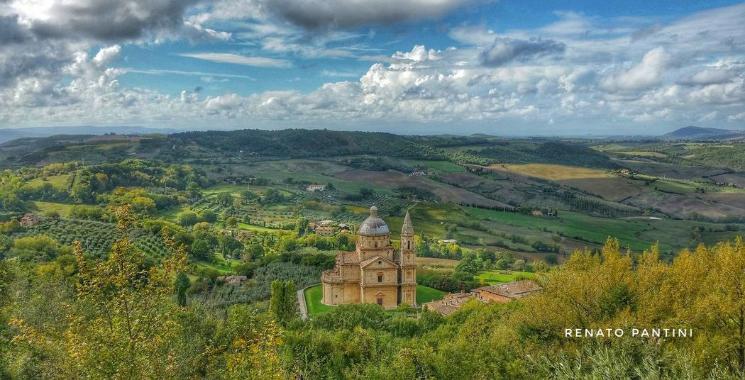 Montepulciano Architecture Landscape Chiesa Chiese Toscana Tuscany Church Churches