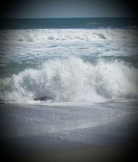 Waves Crashing Ocean❤ Salt Life Beachphotography Life Is A Beach Ocean Atlantic Ocean Forever Summer Enjoying Life Relaxing
