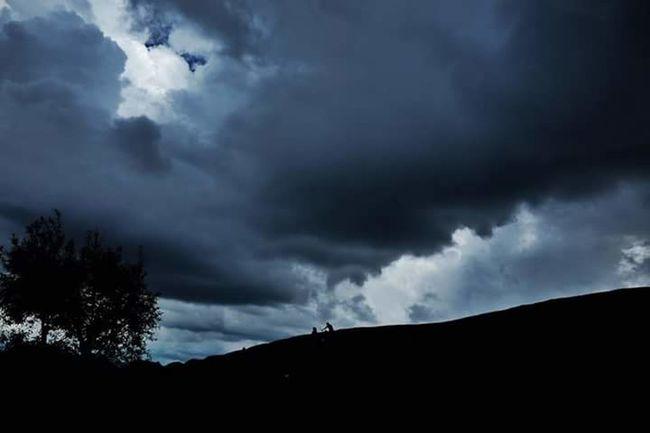 Ice Age When sky is darker amd darker 🌒 Vietnam Mocchauvietnam Sky Cloud - Sky Nature Outdoors Dark Cloudy Dramatic Sky Mountain NorthVietnam Summer Cloud Day Vietnam Trip Tranquil Scene Art