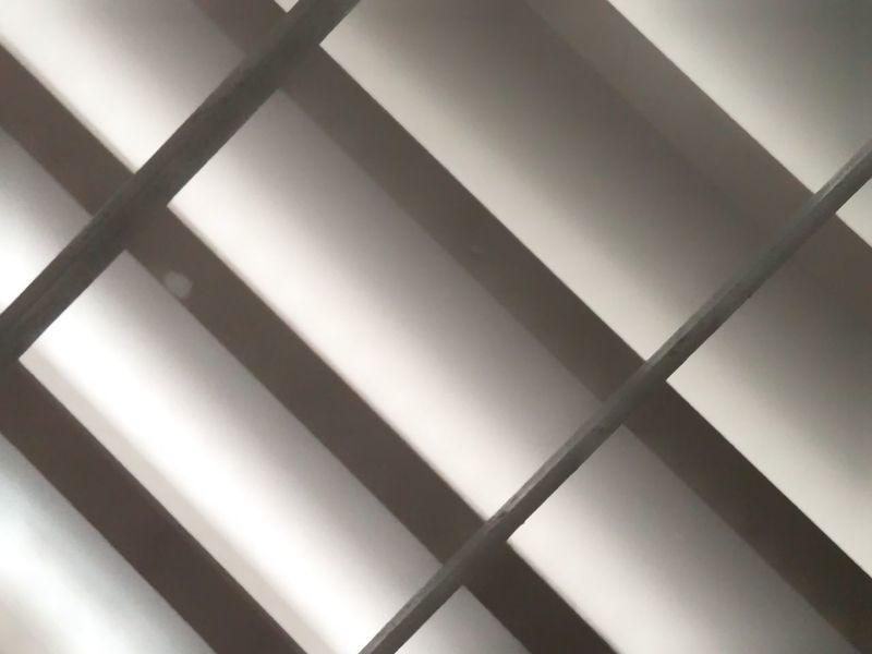 A pattern of wind vent Full Frame Cross Shape Geometric Shape Architectural Design Repetition Brushed Metal LINE Architectural Detail