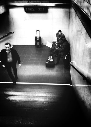 Halleluja they sang... Notes From The Underground Bw_collection Streetphotography People Watching
