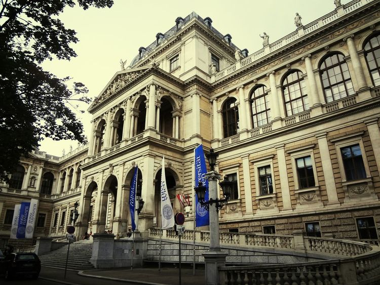 Vienna Austria University Ringstrasse