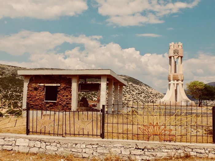Albania Architecture Monument Built Structure Building Exterior Red Star Lostplaces EyeEmNewHere EyeEmNewHere EyeEmNewHere