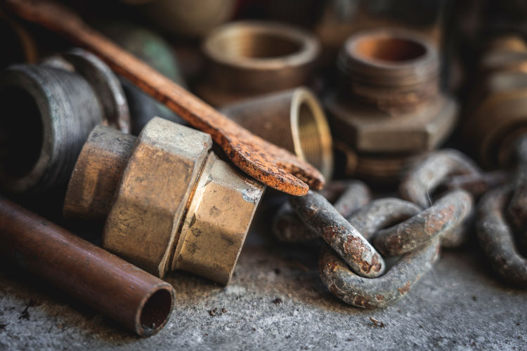Old pipes,