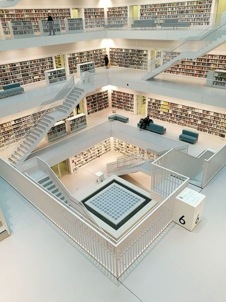 A world of books 📖🌎 City Architecture Indoors  Beautifully Organized Library Building Bücherparadies Building Exterior Stuttgartmobilephotographers Stadtbibliothekstuttgart Built Structure Architecture City Bücherparadies Stunning Architecture Bookshelf Architecturephotography Embrace Urban Life Always Be Cozy Adapted To The City Eyeem0711 Minimalist Architecture The Architect - 2017 EyeEm Awards Neighborhood Map Breathing Space Investing In Quality Of Life The Week On EyeEm EyeEm Ready   The Graphic City Colour Your Horizn