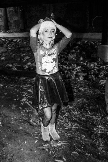 Tranquil Scene Christmas Xmas Escondido, Ca Beautiful Woman Kit Carson Park Tiina Female Model Escondido Outdoors California Young Women Blackandwhite Photography Black And White