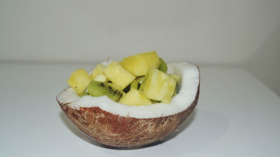 Coconut Food Food And Drink Fruit Freshness SLICE Serving Size Healthy Eating Food Stories