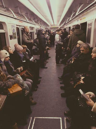 Metro Stpetersburg Russia Питер
