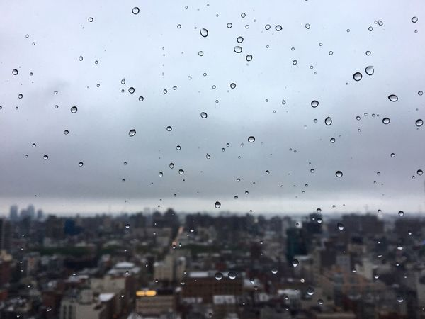 Drop Window Weather Wet No People Sky Water RainDrop Building Exterior Architecture Cityscape Nature Close-up Outdoors City Day Been There.