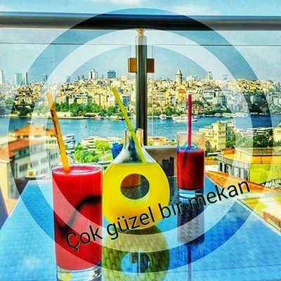 Sefaihurrem Istanbul Eminönü Kahve Manzara Galata Tavsiye 😃😃😃👌👏👏👏