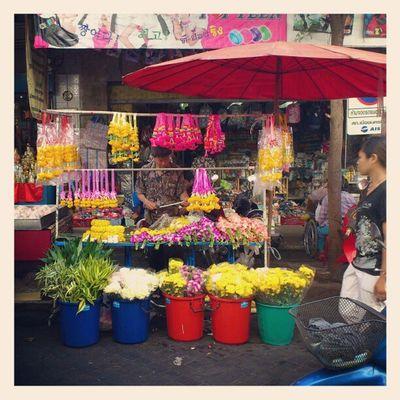 สีสันของตลาด...