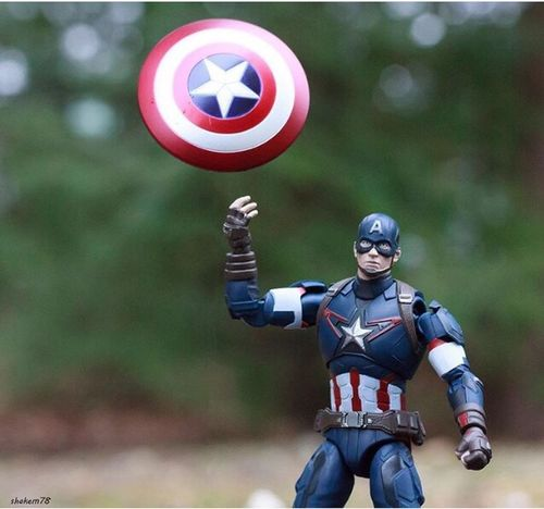 The winter Soldier Toysoutdoors Toyphotographer Toyphotography Photography Toys Civilwar Marvelshots Marvel Comics