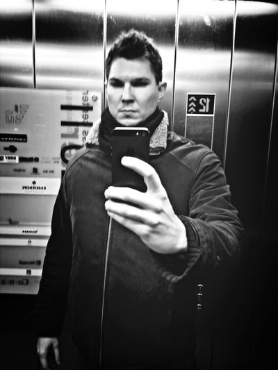 never done a selfie shot in an elevator, had to try it out :-D