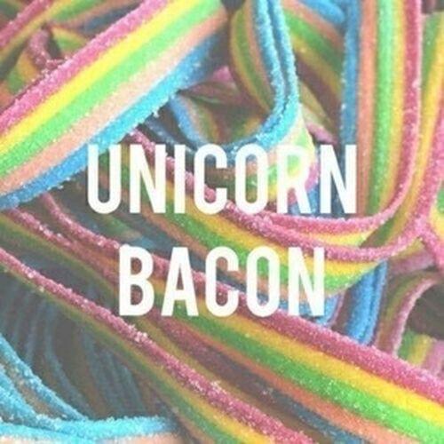 ✨ Unicorns ✨ Unicorn Bacon Unicornbacon