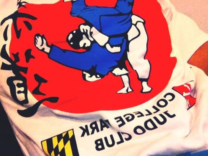 Got a free judo shirt