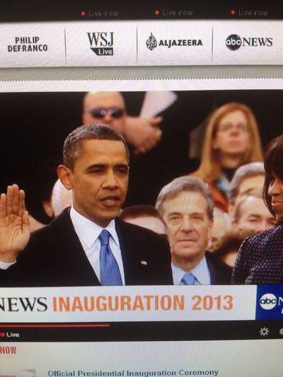 President inauguration 2013