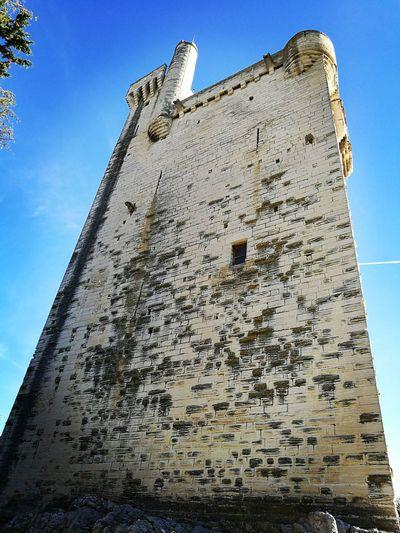 Tour Philippe le Bel Low Angle View Architecture France Villeneuve-lez-avignon